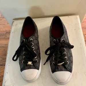Gently worn coach shoes